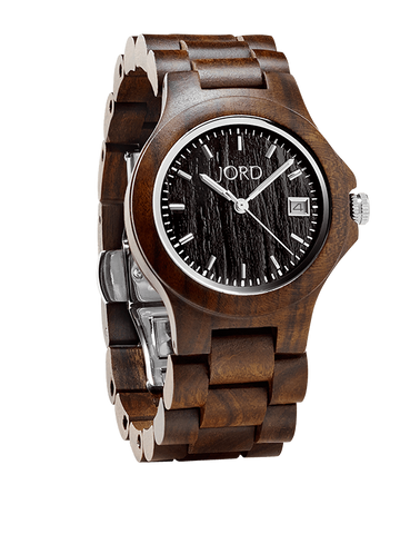 Ely Sandalwood Blackwood Dial Wood Watch