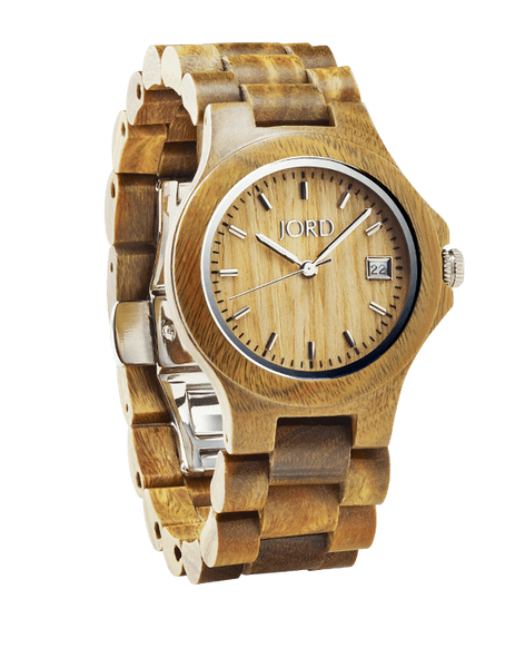 Ely Sandalwood Maple Dial Wood Watch