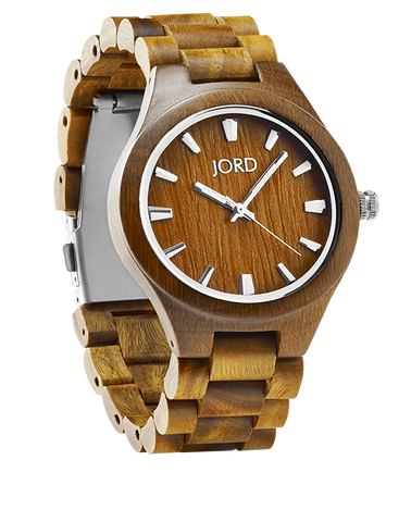Fieldcrest Natural Green Sandalwood Watch