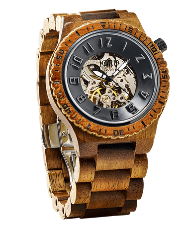 Hawaiian Koa Wood Watch Automatic