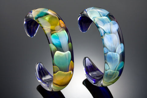 Lagoon Glass Bracelet