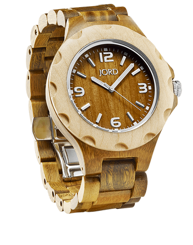 Sully Sandalwood Watch With Maple Bezel