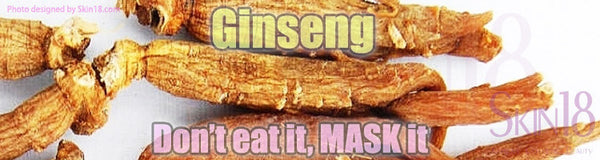 Is Ginseng what you need in your Face Sheet Masks?