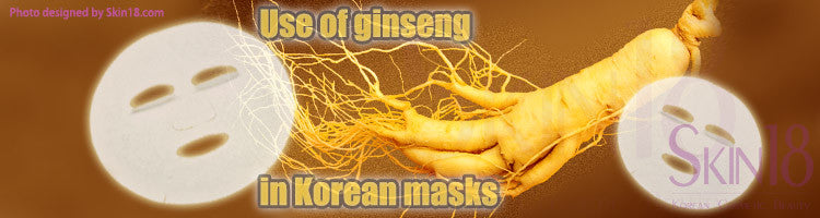 Use of Ginseng in Korean masks