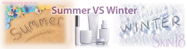 Use different Skin care routine for Summer and Winter