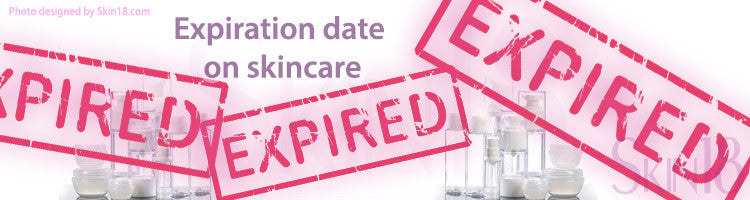 Important note about expiration date on skincare