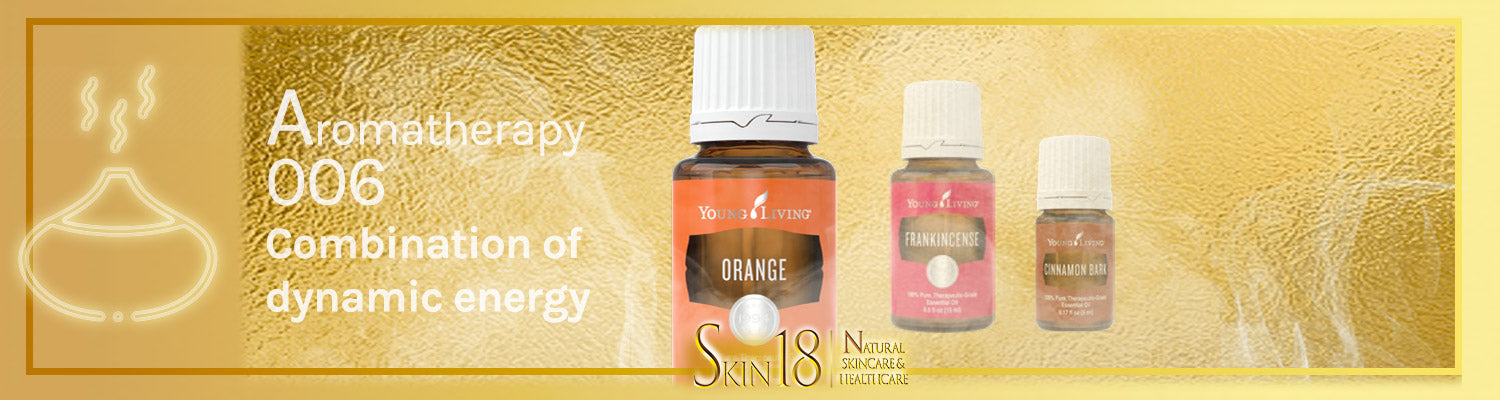 Aromatherapy 006 - Combination of dynamic energy