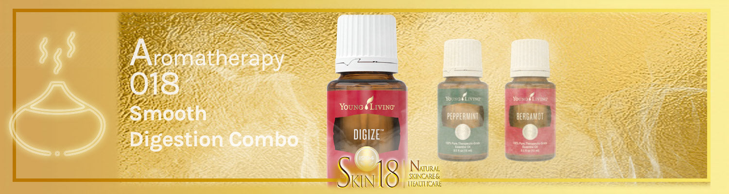 Aromatherapy 018 - Smooth Digestion Combo