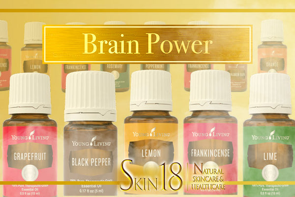 Guide to Aromatherapy - Brain Power