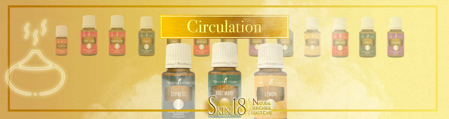 Guide to Aromatherapy - Circulation