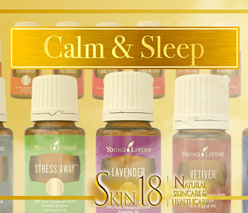 Guide to Aromatherapy - Calm and Sleep