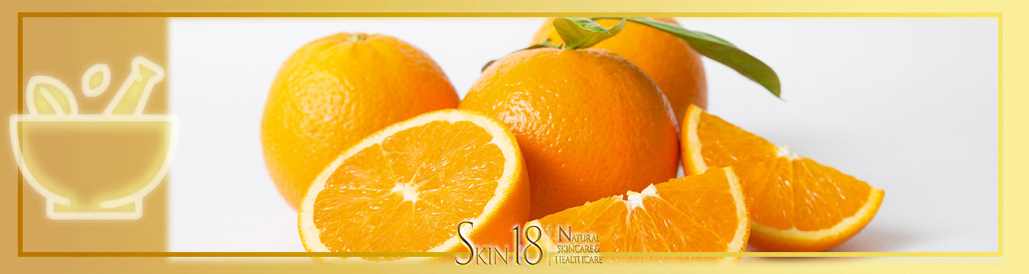 DIY Homemade mask recipe - Vitamin (Orange)