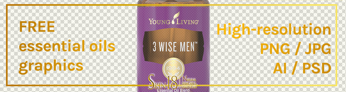 Download | Three (3) Wise Men Essential Oil | Young Living | PNG