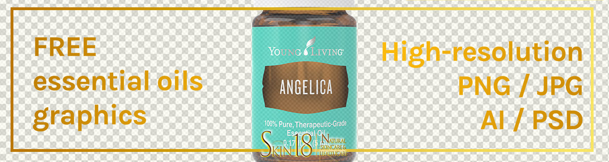 Download | Angelica Essential Oil | Young Living | PNG