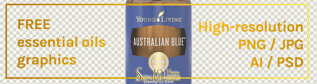 Download | Australian Blue Essential Oil | Young Living | PNG