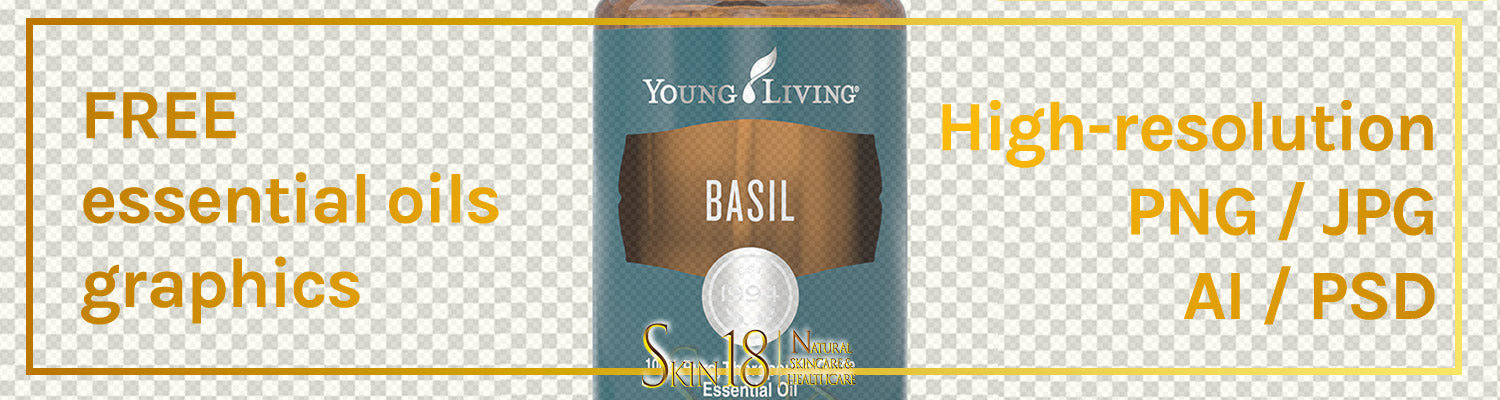Download | Basil Essential Oil | Young Living | PNG