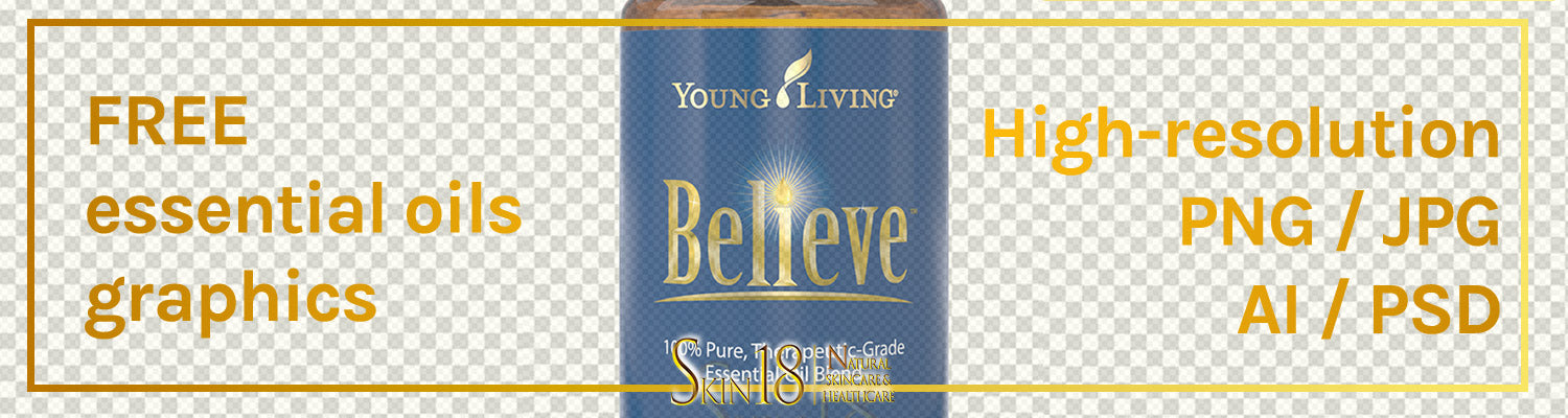 Download | Believe Essential Oil | Young Living | PNG
