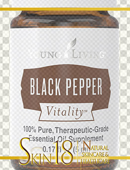 Download | Black Pepper Vitality Essential Oil | Young Living | PNG