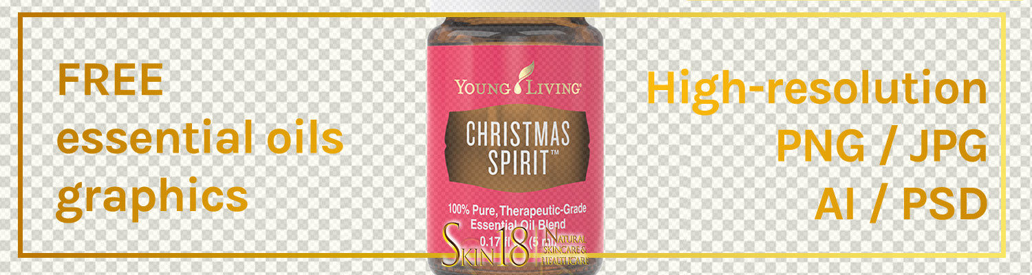 Donwload | Christmas Spirit Essential Oil | Young Living | PNG