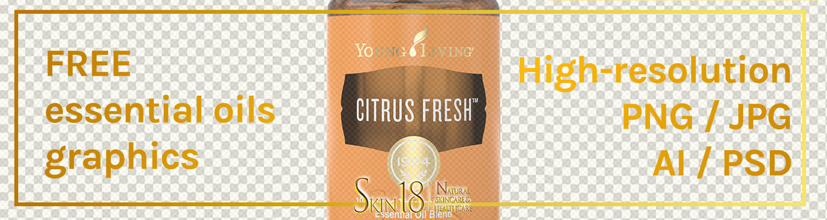 Donwload | Citrus Fresh Essential Oil | Young Living | PNG