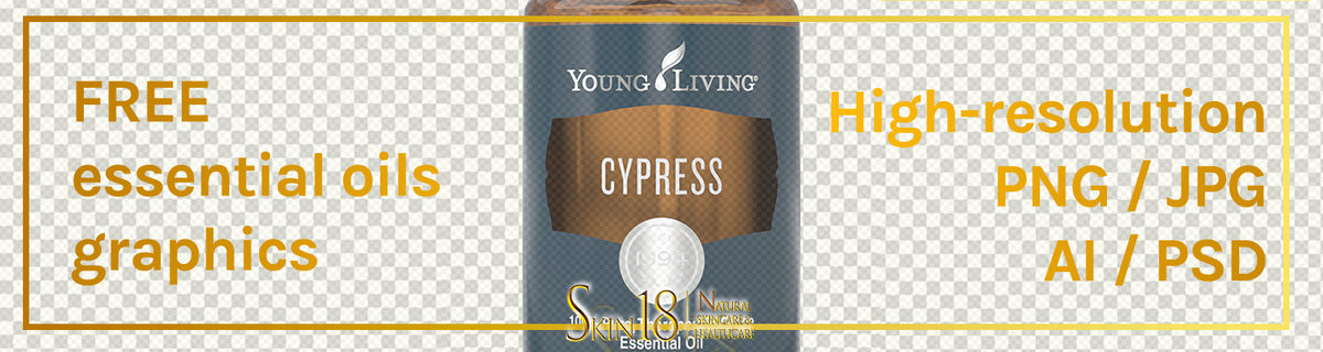 Donwload | Cypress Essential Oil | Young Living | PNG