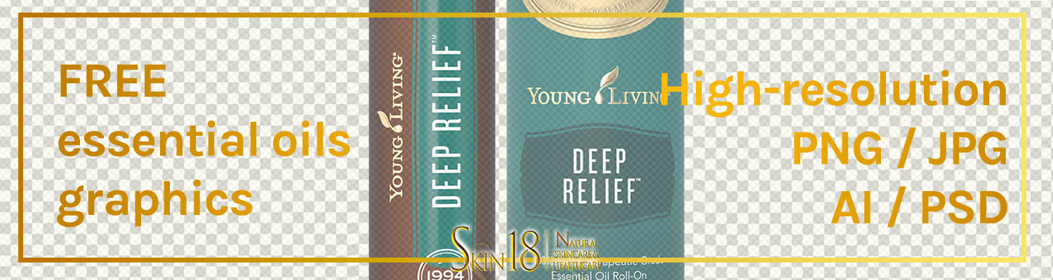 Download | Deep Relief Essential Oil | Young Living | PNG