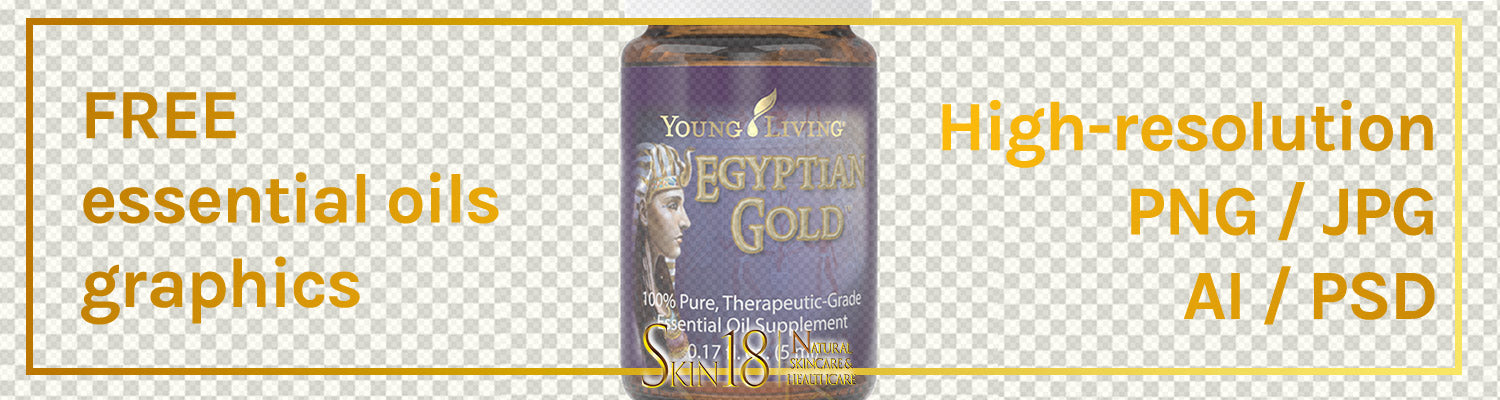 Donwload | Egyptian Gold Essential Oil | Young Living | PNG