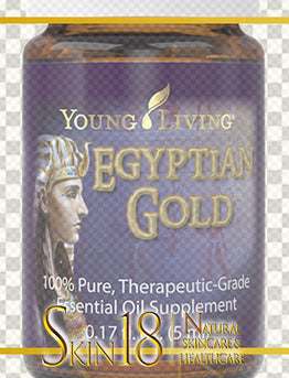Egyptian Gold Essential Oil | Young Living | PNG