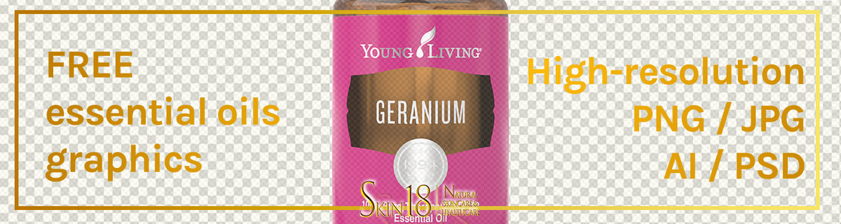 Download | Geranium Essential Oil | Young Living | PNG