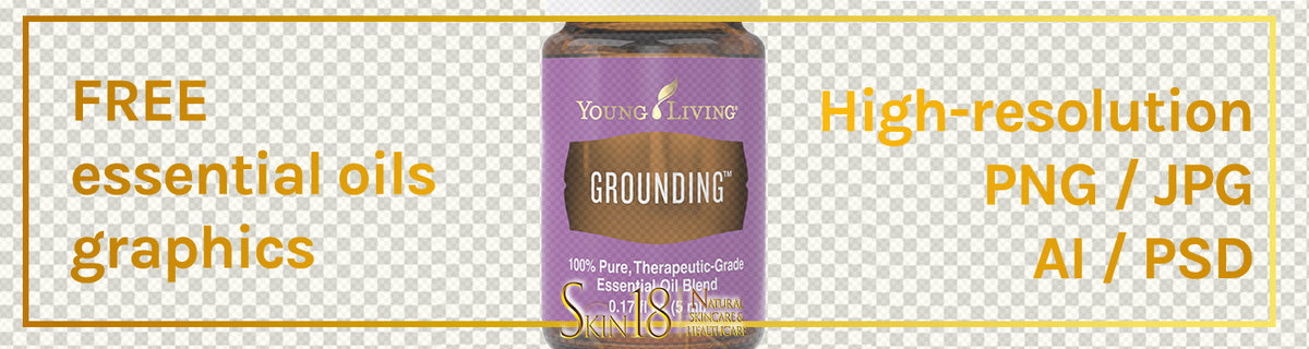Download | Grounding Essential Oil | Young Living | PNG