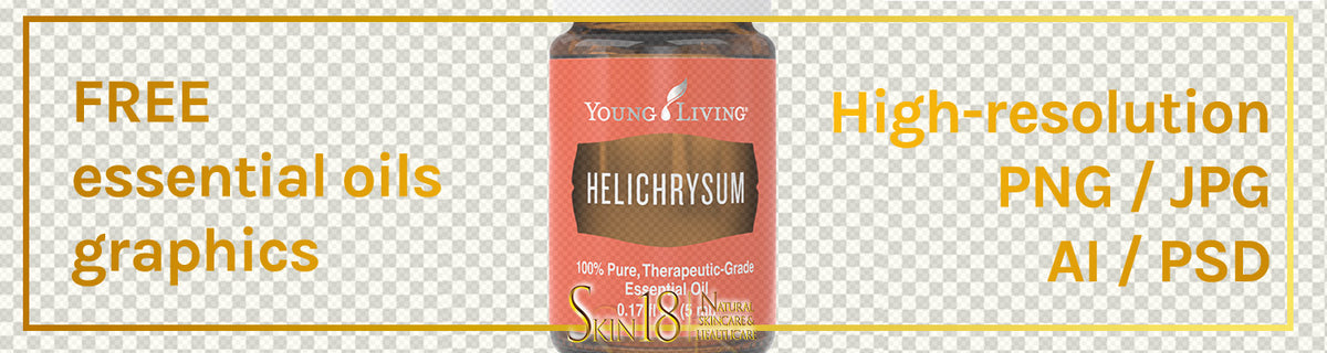 Download | Helichrysum Essential Oil | Young Living | PNG