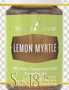 Download | Lemon Myrtle Essential Oil | Young Living | PNG