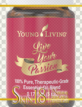 Download | Live Your Passion Essential Oil | Young Living | PNG