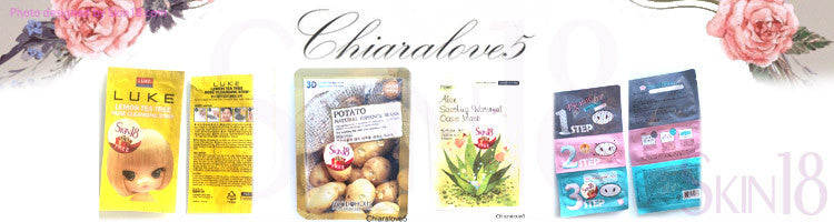 (Blogger: chiaralove5) SKIN 18 – Natural Beauty Skincare Review