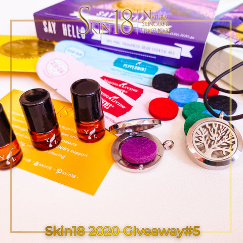 Worldwide #YoungLiving #EssentialOils #Giveaway 🌟Skin18 Giveaways Round 5