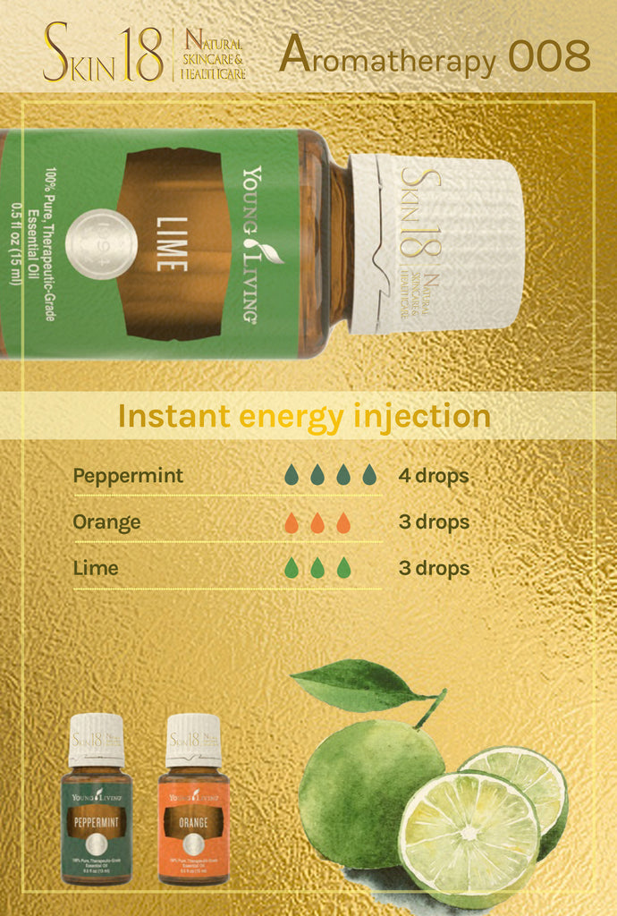 Aromatherapy 008 - Instant energy injection