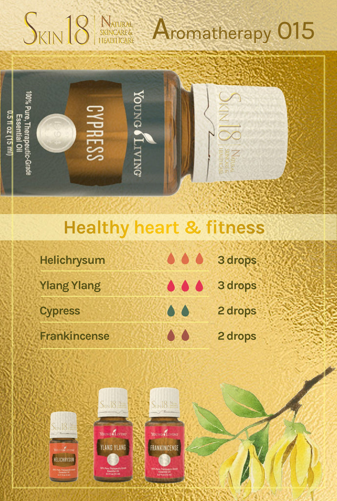 Aromatherapy 015 - Healthy heart  & fitness