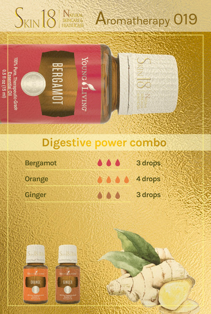 Aromatherapy 019 - Digestion Power Combo