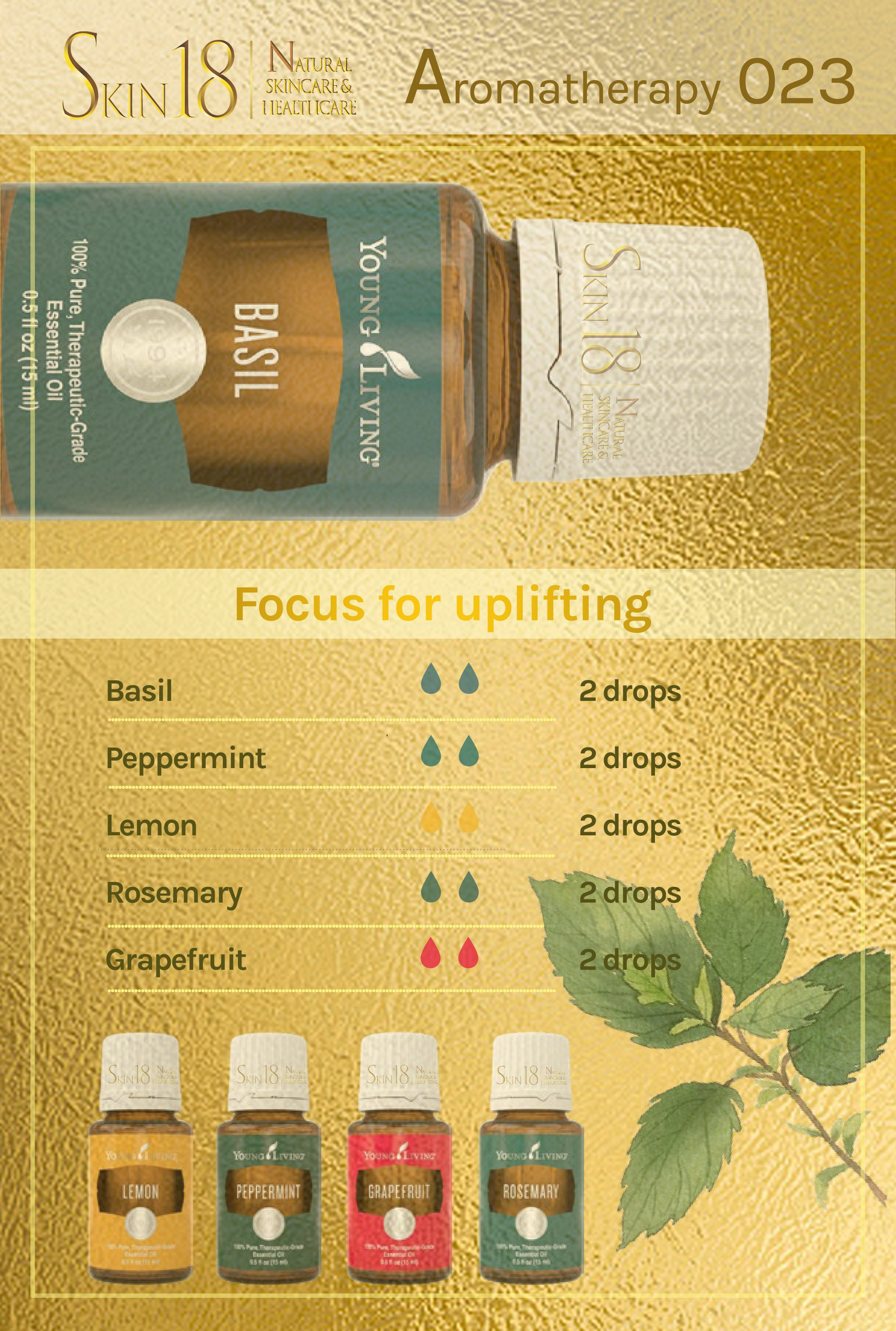 Aromatherapy 023 - Focus for Upifting