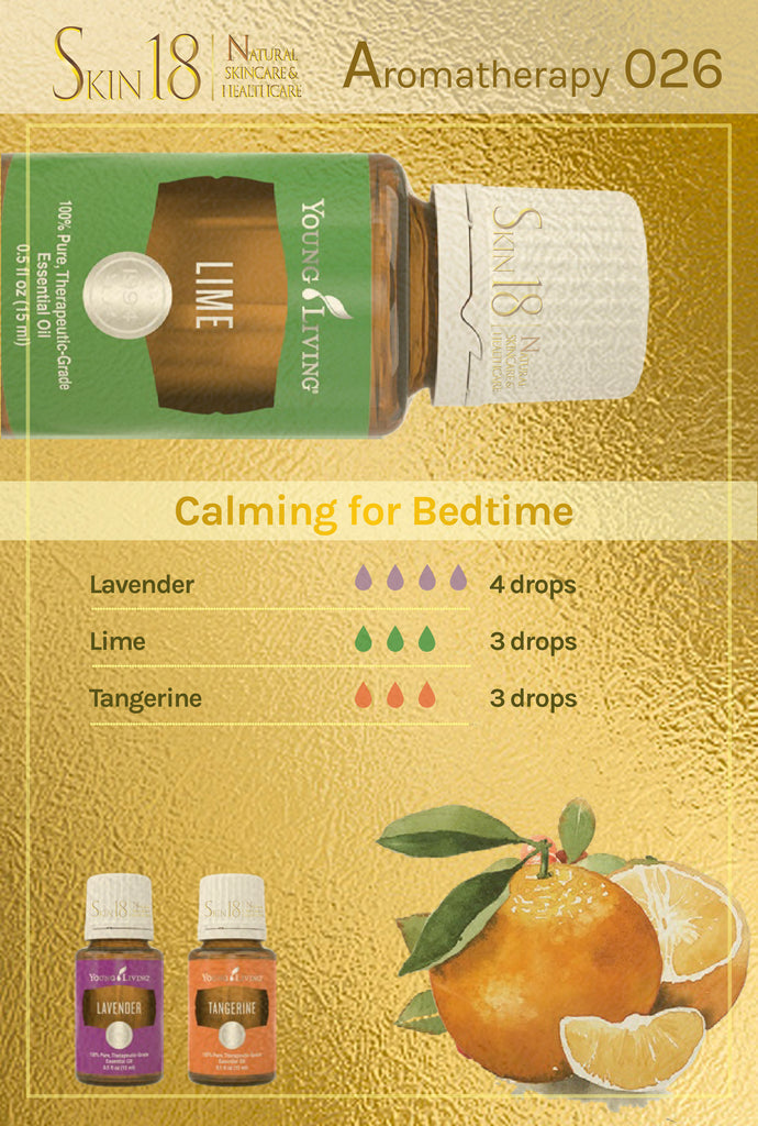 Aromatherapy 026 - Calming for Bedtime