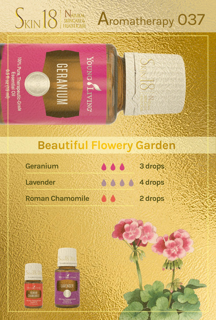 Aromatherapy 037 - Beautiful Flowery Garden