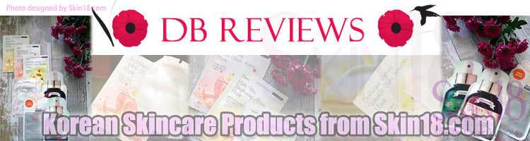 (Blogger : dbreviews.co.uk) Korean Skincare Products from Skin18.com 0