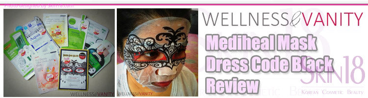 (Blogger : wellnessandvanity.com) Mediheal Mask Dress Code Black Review