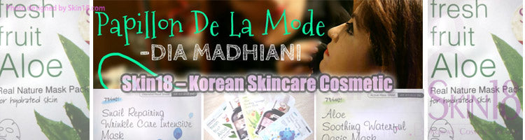 (Blogger : diamadhiani.wordpress.com) Skin18 – Korean Skincare Cosmetic