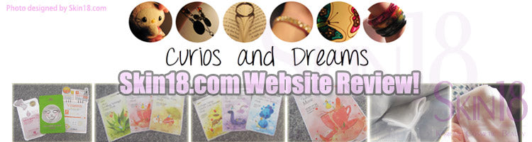 (Blogger : curiosanddreams.com) Skin18.com Website Review!