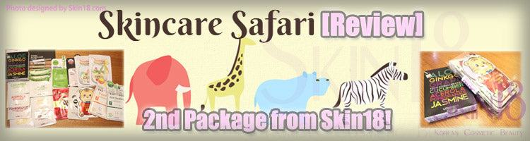 (Blogger : skincaresafari.wordpress.com)2nd Package from Skin18!
