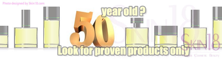 In your golden fifties? Look for proven products only!