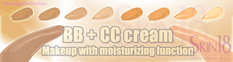 BB cream and CC cream are not moisturizer, they are Makeup with moisturizing function