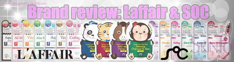 Brand review: Laffair & SOC face masks