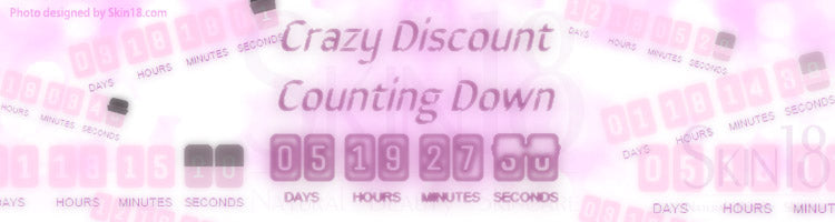 Crazy Discount Counting Down